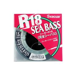Seaguar R18 Sea Bass - 150 метров, 0.148 мм., 6.80 кг.