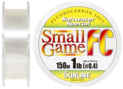 Sunline SWS Small Game FC 150 м, 0.104 мм., 0.45 кг