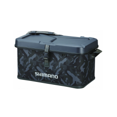 Shimano Hard EVA Tackle Boat Bag, 32L, 30cm X 52cm X 32cm